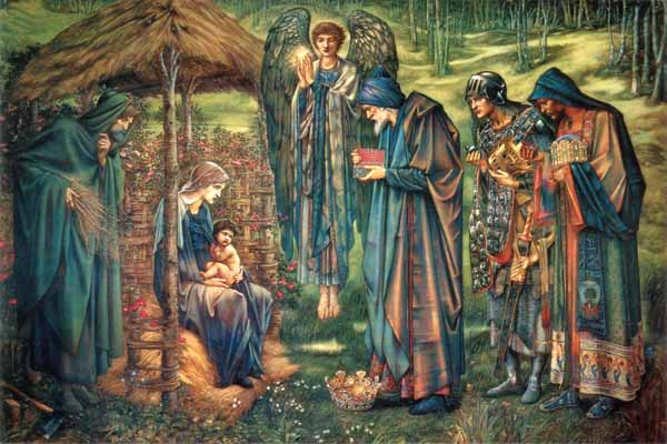 "Burne-Jones ""Star of Bethlehem"""